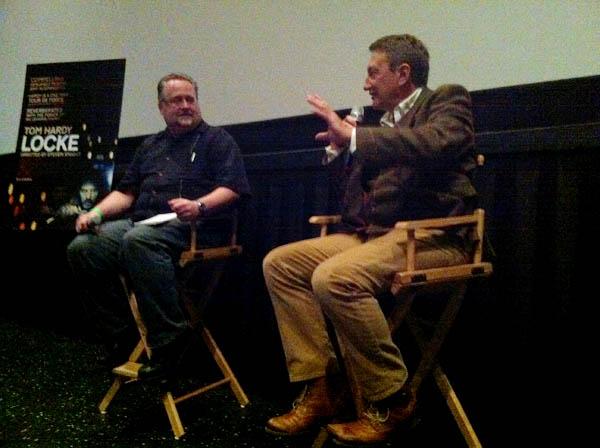 Director Steven Knight at a Q&A